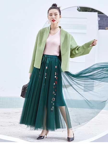 五色風馬WSFM女裝品牌2020秋冬外套