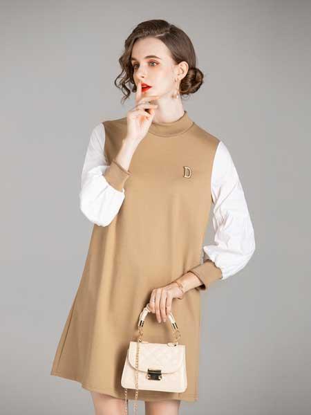容悦女装品牌2020秋冬连衣裙
