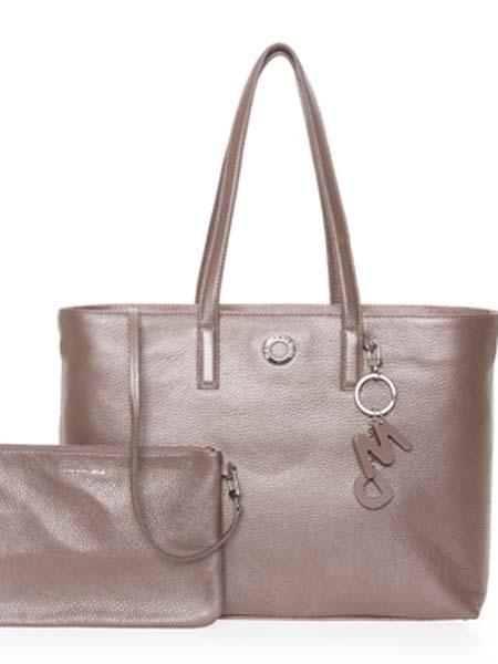 mandarinaduck国际品牌2020秋季纯色皮革手提袋