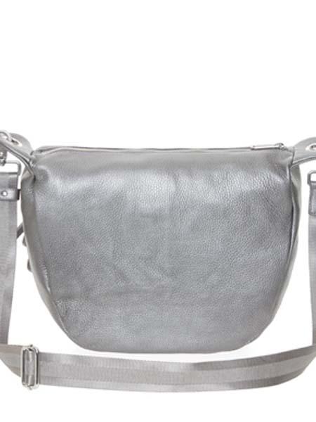 mandarinaduck国际品牌2020秋季灰色潮流皮革挎包