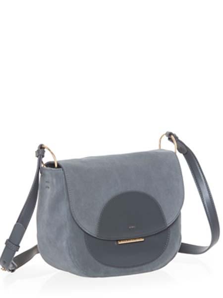 mandarinaduck国际品牌2020秋季黑色个性皮挎包