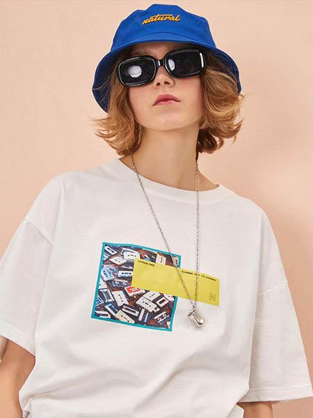 NOCAD潮牌品牌2020春夏白色T恤