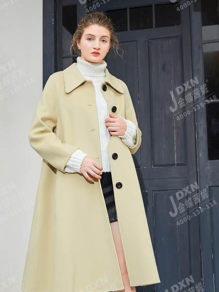 金蝶茜妮女装品牌彩38平台2020秋冬长款大衣
