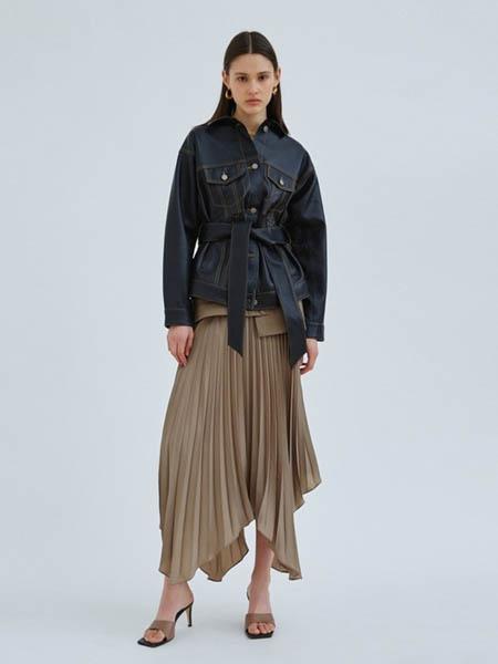 TY-LR/ C/MEO COLLECTIVE女装品牌2020秋冬牛仔上衣