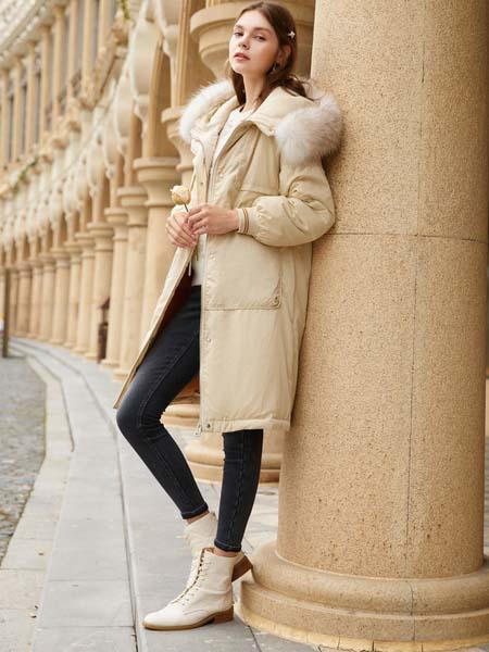 春美多华丽保暖大衣 精致的优雅总是如此简单
