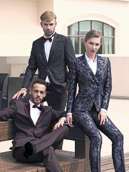 富绅帅气男士西装 穿出时尚潮男的性感气质!