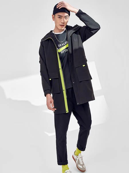 ZUO左男装品牌2020秋冬长款外套