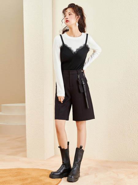卡贝奈尔女装品牌2020秋冬瘦身短裙