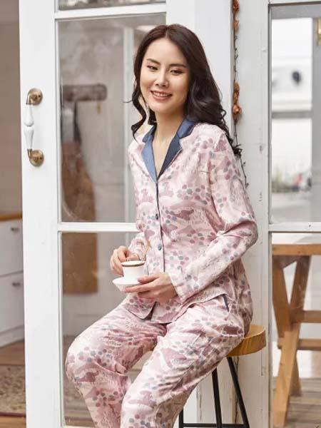 锁春SARING女装品牌2020秋冬新款居家服