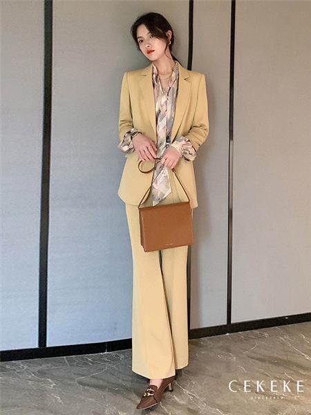 茜可可女装品牌2020秋冬西服外套