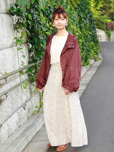 CRISP女装品牌2020秋冬酒红色韩版外套