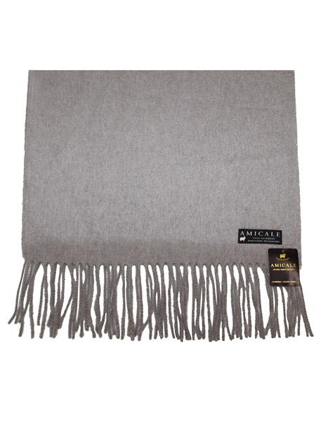 安美桥丝巾品牌2020秋季纯色时尚小羊绒披肩