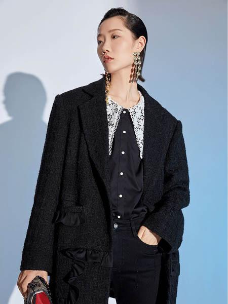西蔻女装品牌2020秋冬宽松女士西服外套
