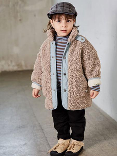 幼米童装品牌2020秋冬女童羊绒保暖外套