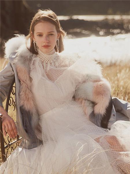 OZLANA女装品牌2020秋冬潮流双面加绒棉外套