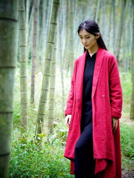 照本堂秋冬新款棉麻衣 用环保时尚将中国风带给世界