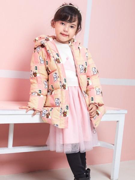 杰米熊童装品牌2020秋冬新品羽绒服