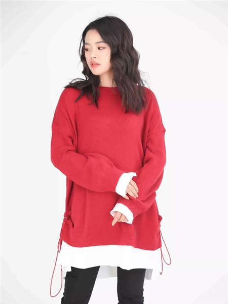 my&juvenilia女装品牌2021春夏活力运动卫衣
