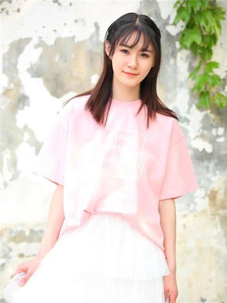 my&juvenilia女装品牌2021春夏淑女极简短袖T恤
