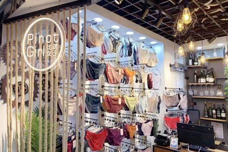 比诺女子品牌店铺展示