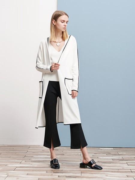 体己女装品牌2021春夏日常白色成熟宽松外套