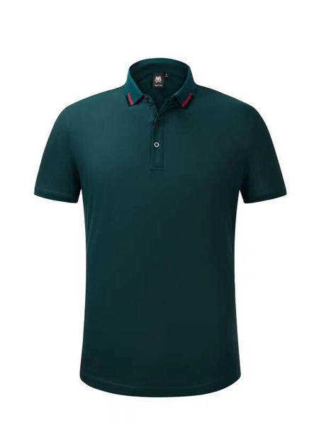 依腾制服/工装品牌高品质纯棉立领T恤