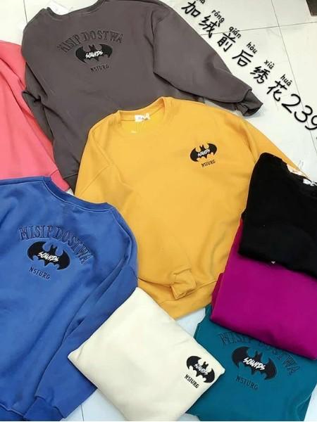 品牌折扣女装时尚衣族新款卫衣库存批发货源
