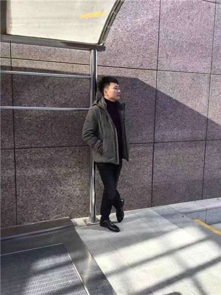 镖王男装品牌2020秋冬军绿色休闲运动风夹克
