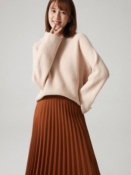 那禾女装品牌2020秋冬白色小清新街头范