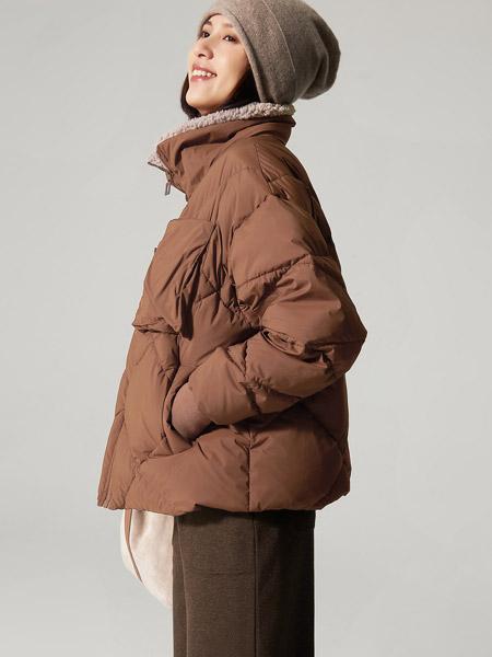 那禾女装品牌2020秋冬短袖中长款街头范