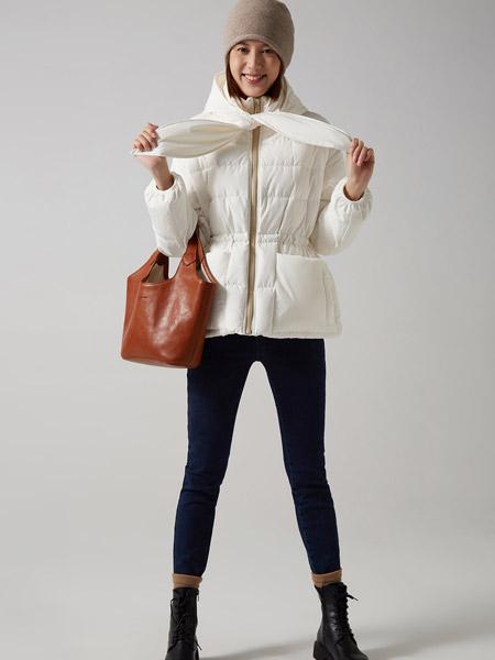 那禾女装品牌2020秋冬白色淑女快时尚