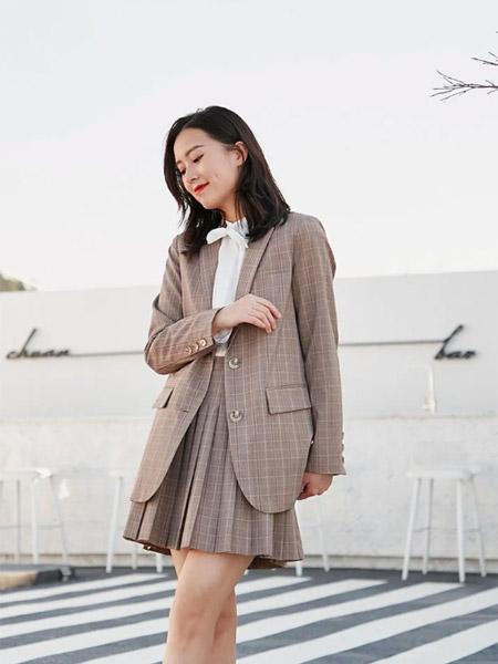 季候风女装品牌2021春夏商务百搭中长款外套