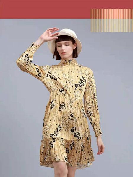 卡汶女装品牌2021春夏棉麻连衣裙森系