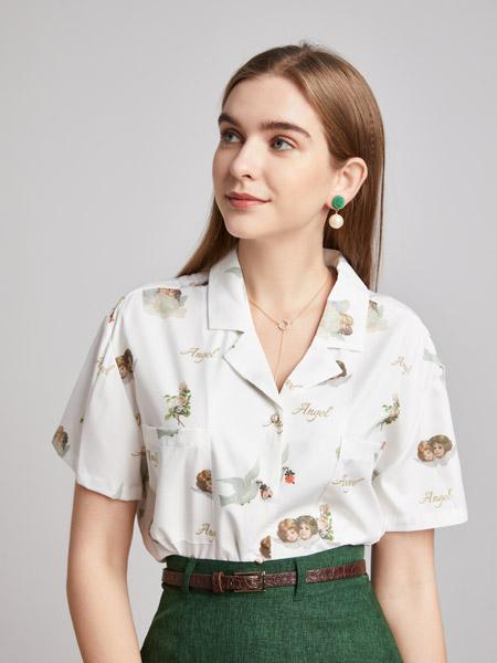 城市衣柜女装品牌2021春夏淑女快时尚两件套