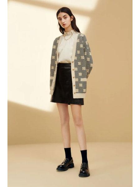 恩瑞妮女装品牌2021春夏针织衫休闲