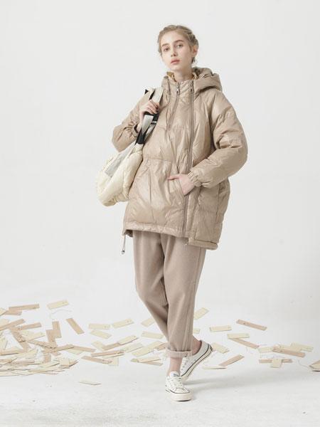 庄玛女装品牌彩38平台2021春夏长袖羽绒服
