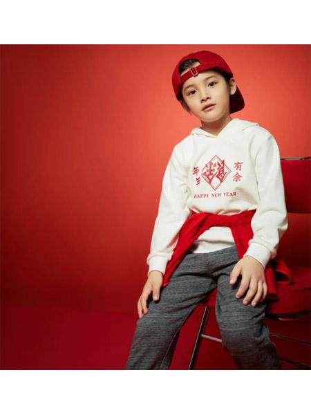 小猪班纳童装品牌2021春夏长袖休闲运动服