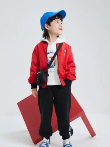 小猪班纳童装品牌2021春夏运动休闲外套
