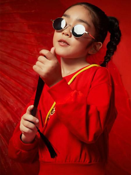 小猪班纳童装品牌2021红色春夏公主休闲外套