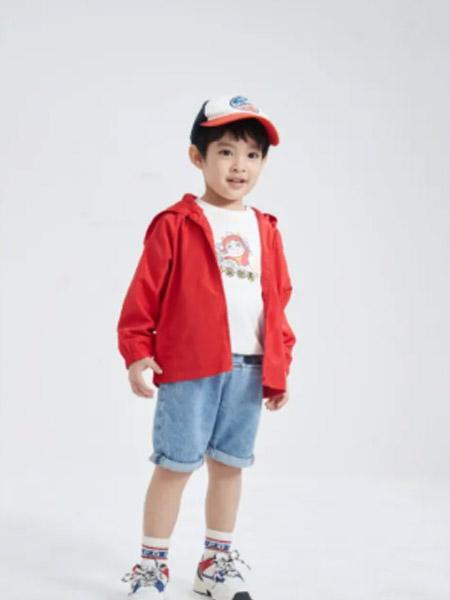 小猪班纳童装品牌2021春夏潮童休闲外套
