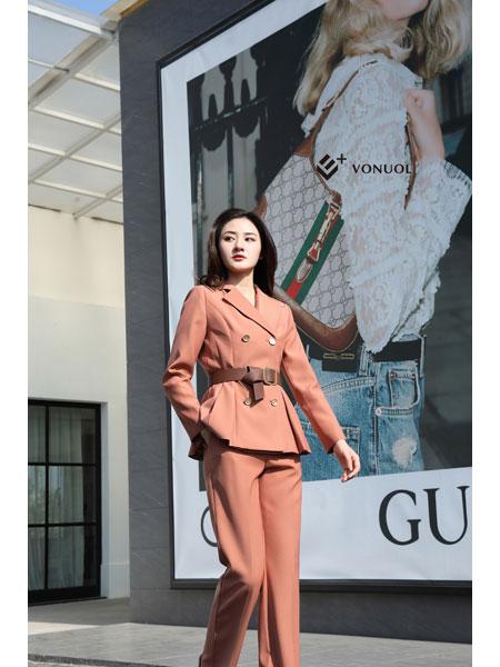 E+vonuol我的私人衣橱女装品牌2021春装OL俏皮气质职业装