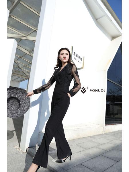 E+vonuol我的私人衣橱女装品牌2021春装连体服