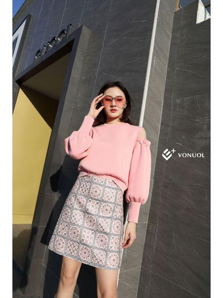 E+vonuol我的私人衣橱女装品牌2021春装淑女俏皮百搭衣