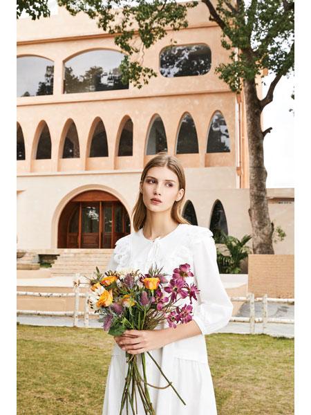 你即永恒女装品牌2021春夏白色休闲小清新休闲装