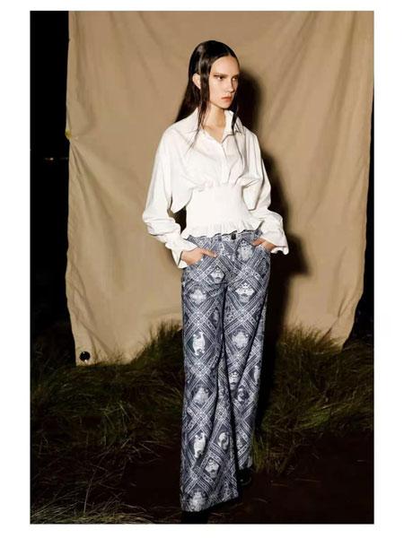 AttinaLife阿缇娜女装品牌彩38平台2021春夏白色俏皮短款上衣