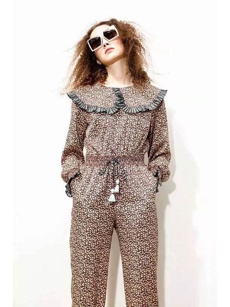 AttinaLife阿缇娜女装品牌2021春夏雪纺俏皮套装