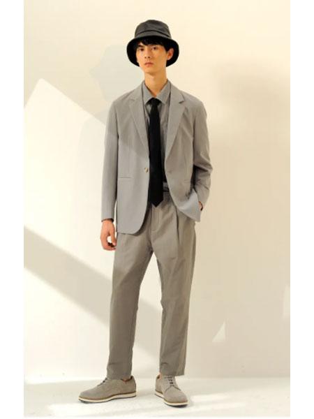 1943S男装品牌2021春款极简个性外套