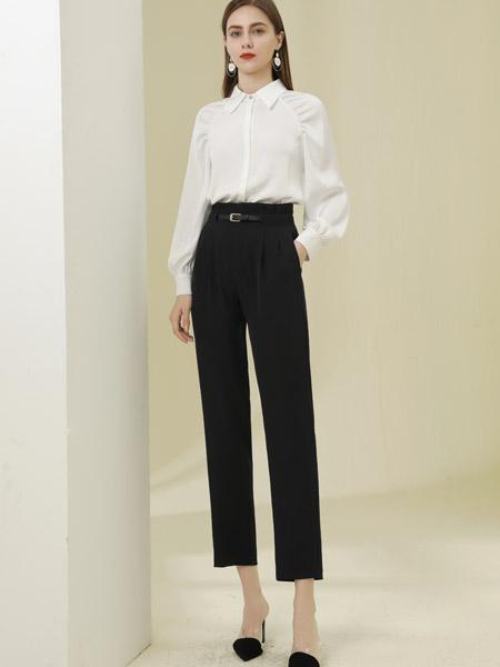 爱依莲女装品牌彩38平台2021春夏白色俏皮中长款套装