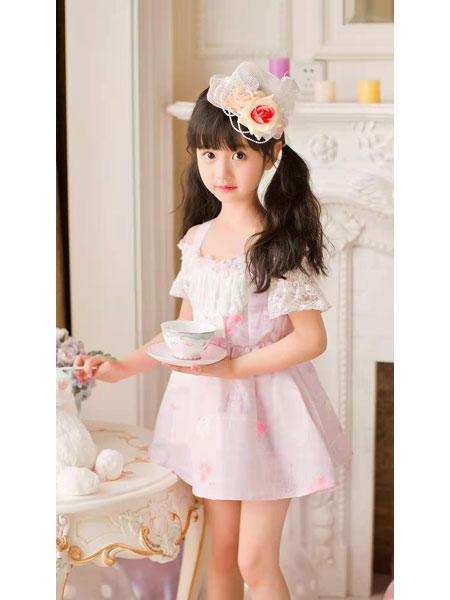 宾果童话童装品牌2021春夏公主连身衣