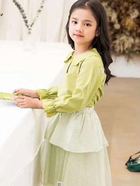 宾果童话童装品牌2021春夏公主长袖套装
